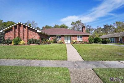 Baton Rouge Single Family Home For Sale: 12223 Lake Ladare Ave