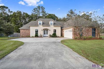 Denham Springs Single Family Home For Sale: 38657 Alderly Ln