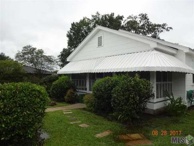 Port Allen Single Family Home For Sale: 734 Maryland Ave