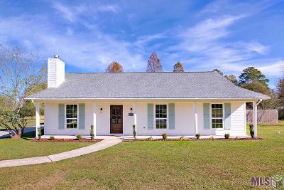 Prairieville Single Family Home Contingent: 17338 Wirth Place