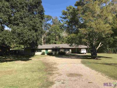 Central Single Family Home For Sale: 15723 Greenwell Springs Rd
