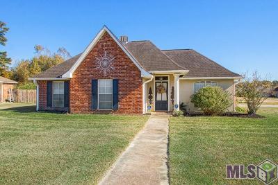 Denham Springs Single Family Home For Sale: 36136 Greenville Ave