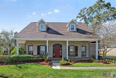 Prairieville Single Family Home Contingent: 17497 Lauren Dr