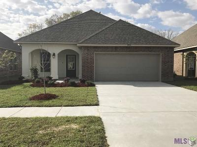 Gonzales Single Family Home For Sale: 39151 Superior Wood Ave