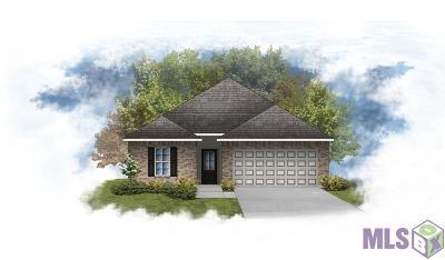 Zachary Single Family Home For Sale: 6470 Lakeridge Dr