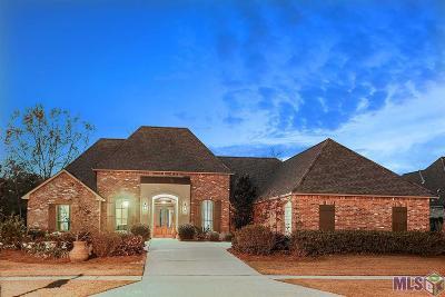 Denham Springs Single Family Home For Sale: 315 Chateau Jon