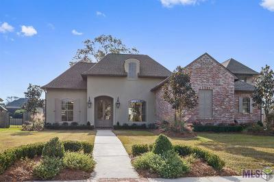 Prairieville Single Family Home For Sale: 36234 Lasalle Pointe Dr