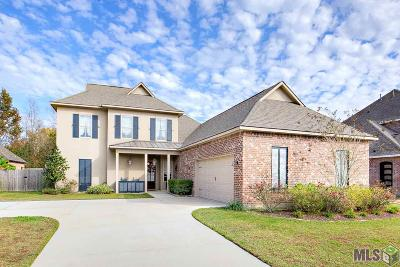 Prairieville Single Family Home For Sale: 14370 Bluff Pass Dr