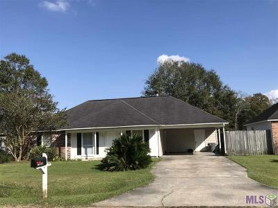 Prairieville Single Family Home For Sale: 16242 E Ridgewood Dr