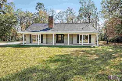 Denham Springs Single Family Home For Sale: 8460 Harris Rd
