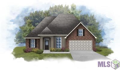 Denham Springs Single Family Home For Sale: 23136 Arcwood Dr