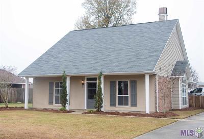 Denham Springs Single Family Home For Sale: 32737 Hemingway Ave