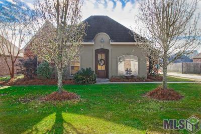 Denham Springs Single Family Home For Sale: 38626 Alderly Ln