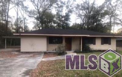 Baton Rouge LA Single Family Home For Sale: $95,000