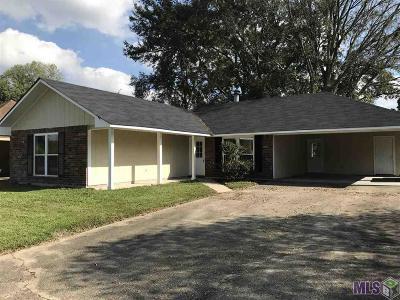 Baton Rouge LA Single Family Home For Sale: $139,500