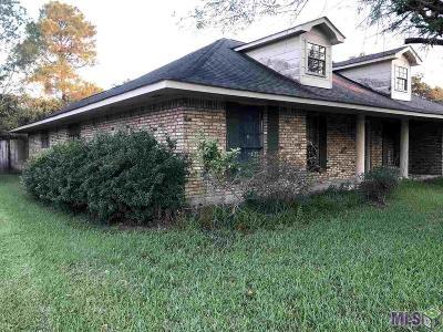 Baton Rouge LA Single Family Home For Sale: $92,000