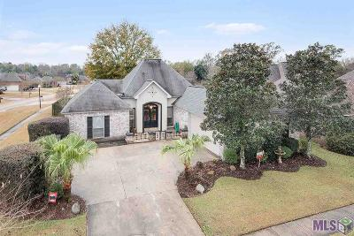 Denham Springs Single Family Home For Sale: 9184 Rue De Fleur