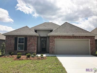Denham Springs Single Family Home For Sale: 23070 Arcwood Dr