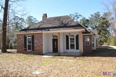 Denham Springs Single Family Home For Sale: 22641 Boyette Ln
