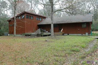 Zachary Single Family Home For Sale: 11789 Port Hudson Pride Rd