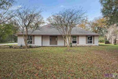 Denham Springs Single Family Home For Sale: 25393 Plantation Ave
