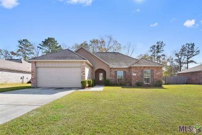 Denham Springs Single Family Home For Sale: 13866 Penbrooke Ave