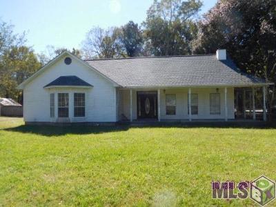 Prairieville Single Family Home For Sale: 36013 Kleinpeter Rd