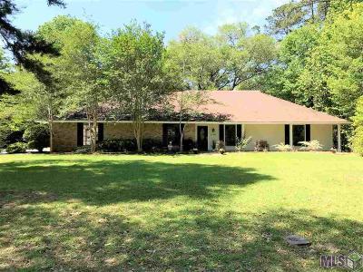 Denham Springs Single Family Home For Sale: 25893 Plantation Ave