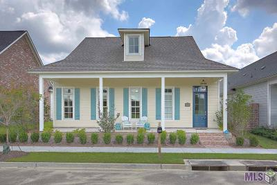 Zachary Single Family Home For Sale: 4187 Memorial Square
