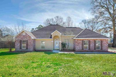 Denham Springs Single Family Home For Sale: 13056 Montrose North