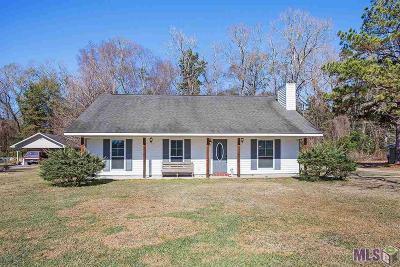 Denham Springs Single Family Home For Sale: 8259 Olivia Dr