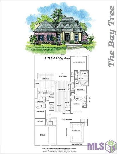 Prairieville Single Family Home For Sale: 18116 River Landing Dr