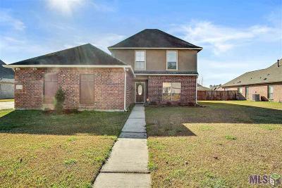 Denham Springs Single Family Home For Sale: 13756 Shady Hollow Dr