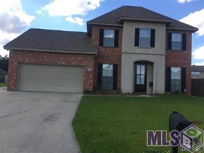 Denham Springs Single Family Home For Sale: 9153 Kanawaha Ct