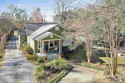 Baton Rouge Single Family Home Contingent: 1176 Carter Ave