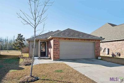 Zachary Single Family Home For Sale: 9414 Redwood Lake Blvd