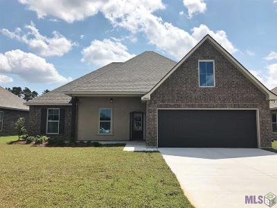 Denham Springs Single Family Home For Sale: 23046 Arcwood Dr