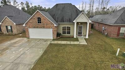 Denham Springs Single Family Home For Sale: 13058 Hazelwood Dr