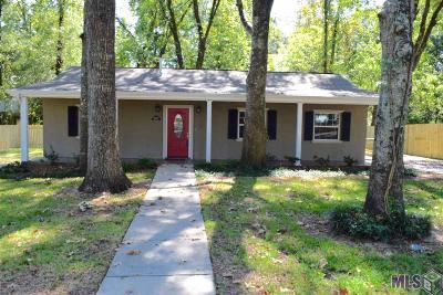 Prairieville Single Family Home For Sale: 18605 Blythe Rd