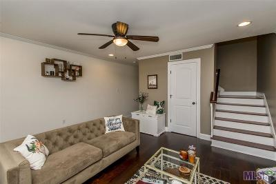 Baton Rouge Condo/Townhouse For Sale: 12138 Coursey Bl #3