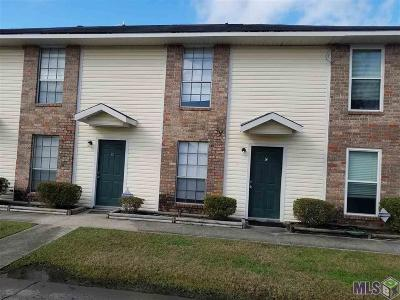 Baton Rouge Condo/Townhouse For Sale: 1670 Brightside Dr #C