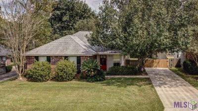 Prairieville Single Family Home For Sale: 14192 Parkridge Dr