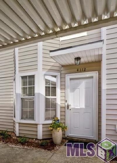 Baton Rouge Condo/Townhouse For Sale: 4112 Jefferson Woods Dr