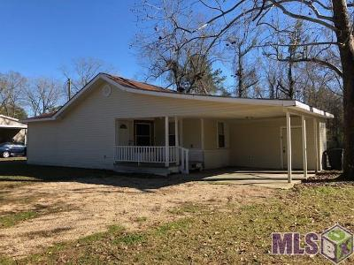 Zachary Single Family Home For Sale: 12612 Milldale Rd