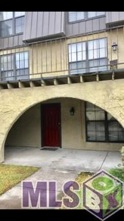 Baton Rouge Condo/Townhouse For Sale: 10292 W Winston Ave #2