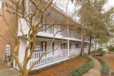 Baton Rouge Condo/Townhouse For Sale: 4452 Stumberg Ln