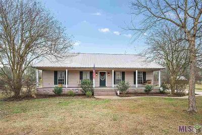 Gonzales Single Family Home For Sale: 12454 Fernand Rd