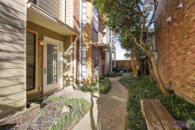 Baton Rouge Condo/Townhouse For Sale: 405 Longwood Ct #B
