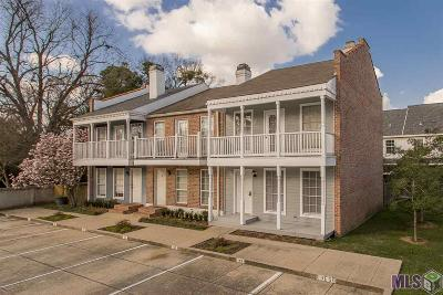 Baton Rouge Condo/Townhouse For Sale: 2210 Christian St #33