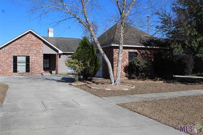 Denham Springs Single Family Home For Sale: 9197 Rue De Fleur